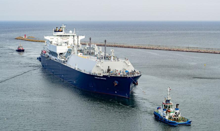 PGNiG увеличивает пропускную способность СПГ терминала Swinoujscie