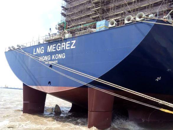 Четвертый газовоз для Ямал СПГ от Hudong-Zhonghua готовится к мореходным испытаниям