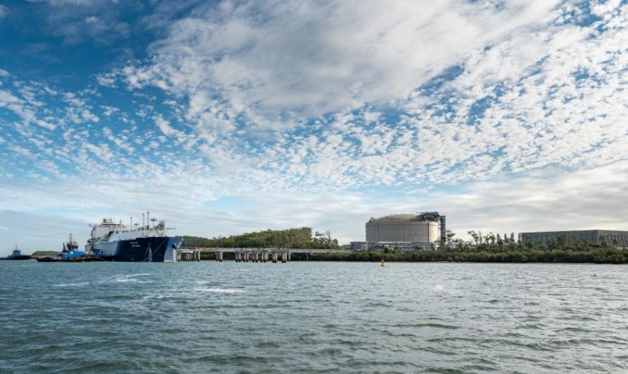 Australia Pacific LNG произвел пятисотую отгрузку СПГ