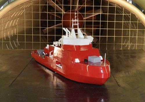 Крыловский центр разрабатывает первый российский ледокол на СПГ