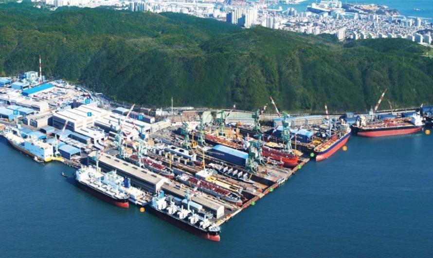Hyundai Mipo Dockyard успешно продвигает судно с аммониевой силовой установкой