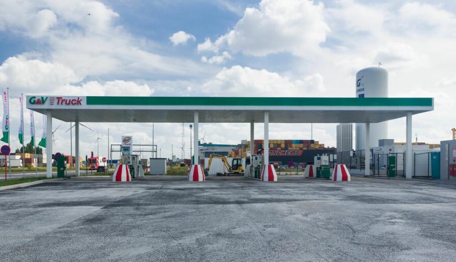 Rolande и G&V Energy открывают СПГ заправку в Антверпене