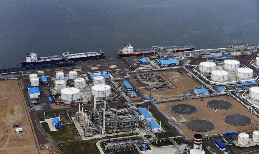 ВЭБ выдаст 55 миллиардов рублей на строительство Комплекса СПГ в Усть-Луге
