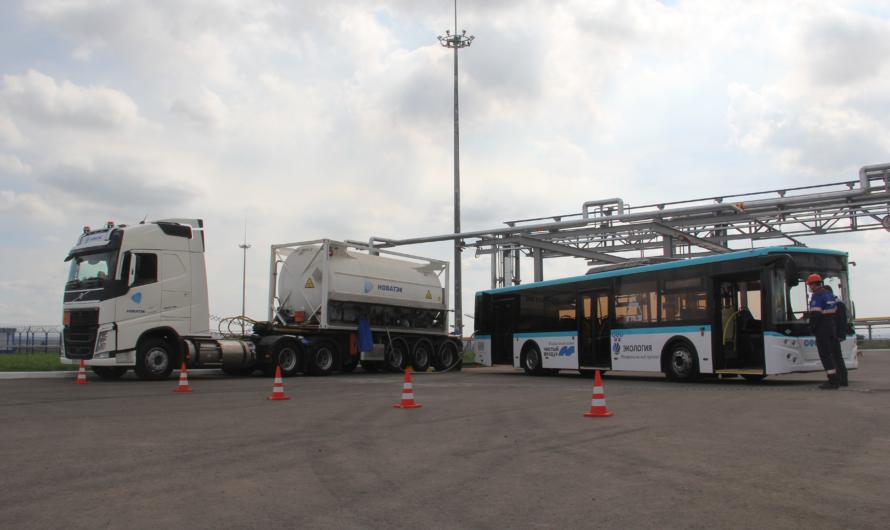НОВАТЭК обеспечит дорожный коридор от Петербурга до Челябинска СПГ-заправками