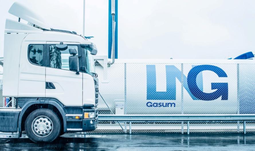 Gasum в сотрудничестве с Volvo открывает очередную СПГ АЗС в Туве