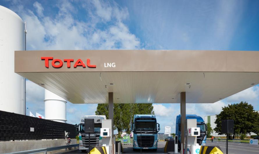 Total приступила к строительству СПГ-АЗС в Нидерландах с прицелом на водород