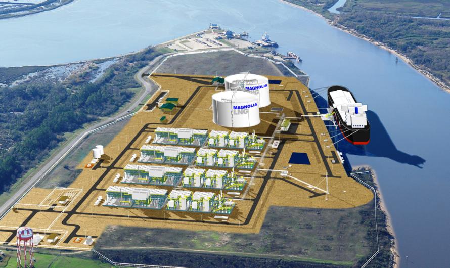 Magnolia LNG откладывается на 5 лет