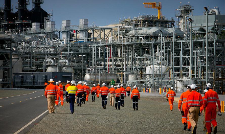 Inpex и Chevron сокращают рабочие места на своих СПГ проектах в Австралии