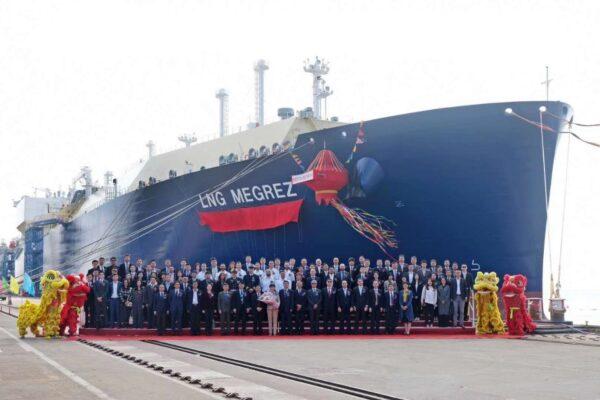 В Китае прошла церемония наречения четвертого газовоза для Ямал СПГ