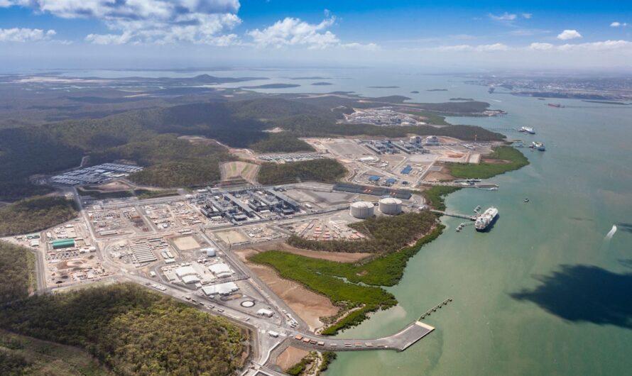 Одна из линий австралийского СПГ завода Gladstone LNG будет остановлена в Январе