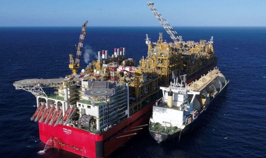 Shell готовится к перезапуску плавучего СПГ завода Prelude FLNG?