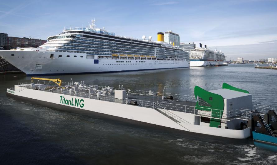 Titan LNG получает финансирование ЕС для проекта по бункеровке био-СПГ