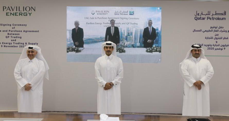 Новое торговое подразделение Qatar Petroleum получило заказ на поставку в Сингапур до 1,8 Мт/год СПГ