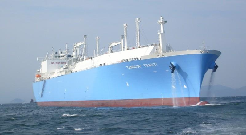 Совкомфлот получил кредит на пару газовозов для индонезийского СПГ завода Tangu