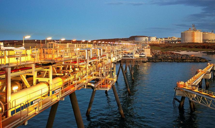 В Австралии заканчивается газ для СПГ завода North West Shelf LNG