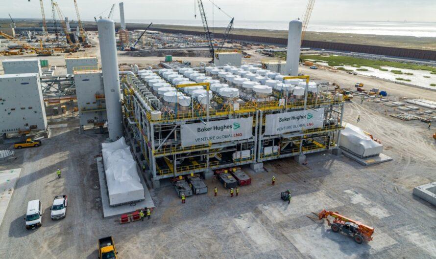 Проект СПГ завода в Луизиане Calcasieu Pass LNG реализуется с опережением графика