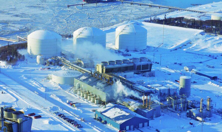 Завод СПГ на Аляске Kenai LNG будет преобразован в импортирующий терминал