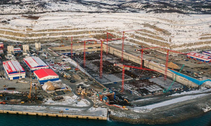 Плиты для Арктик СПГ 2 будет делать пятый резидент ТОР «Столица Арктики»