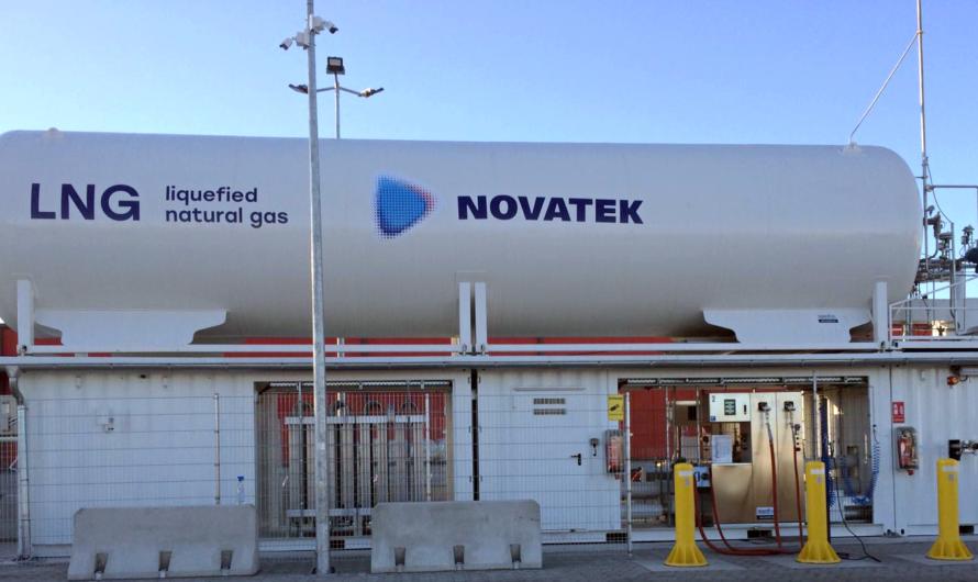«НОВАТЭК» открыл первую углеродно-нейтральную СПГ-заправку в Европе