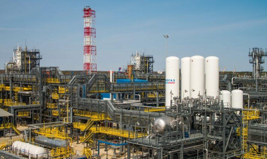 «Криогаз-Высоцк» произвел миллионную тонну СПГ