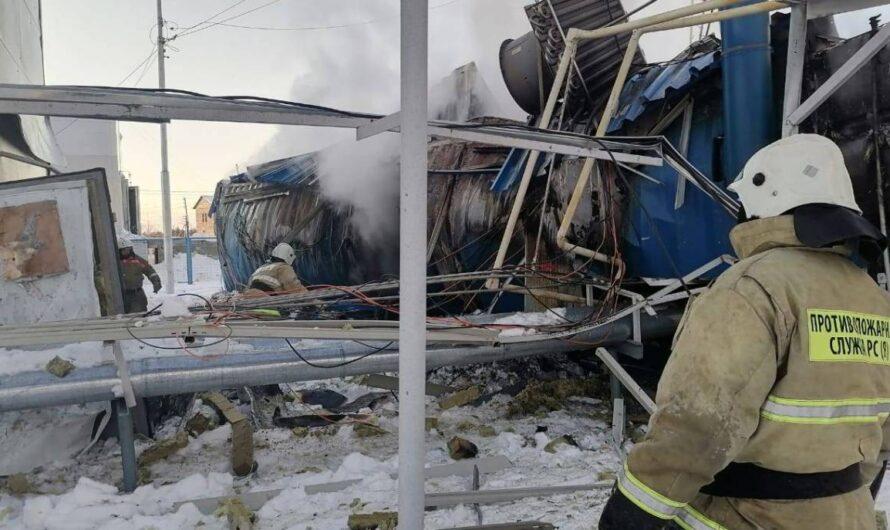 Опубликованы фотографии до и после взрыва на КСПГ Нижний Бестях