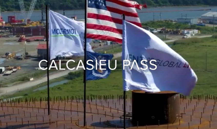 Venture Global уже ищет суда для отгрузки СПГ с завода Calcasieu Pass