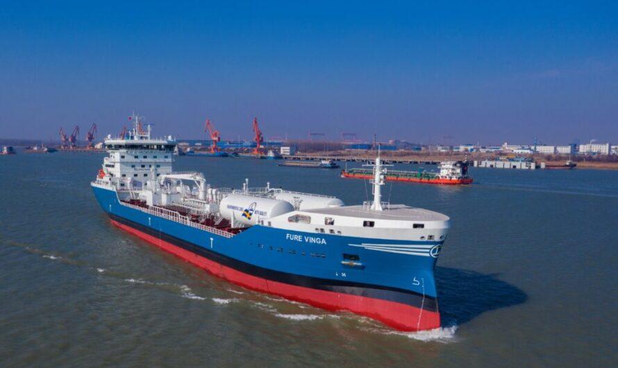 Repsol достигла очередного рубежа в СПГ бункеровке c Fure Vinga LNG
