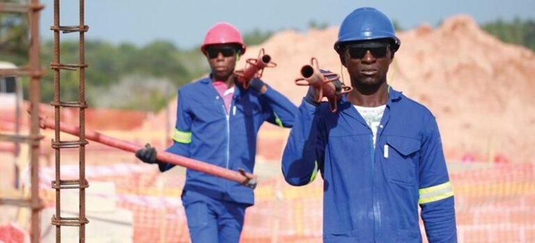 Total возобновляет работы на площадке СПГ проекта Mozambique LNG