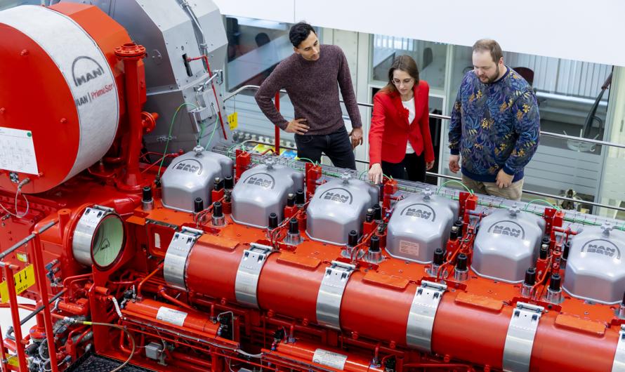 MAN Energy запускает проект создания двухтопливных двигателей AmmoniaMot