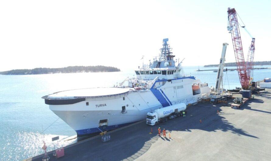 Gasum начинает пробные поставки СБГ вместо СПГ финским пограничникам