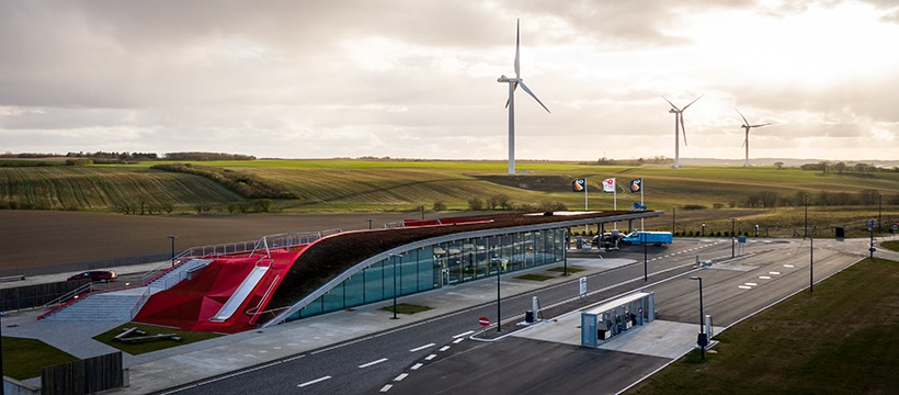 Дания строит свою первую СПГ АЗС