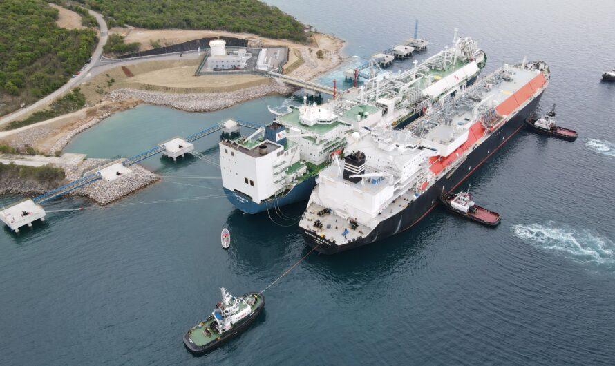 MET Croatia произвела первую поставку СПГ из Европы на терминал Крк