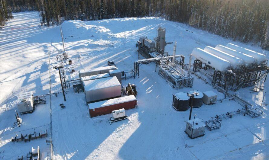 Мини-СПГ в Форт-Нельсон на севере Канады сдан в эксплуатацию