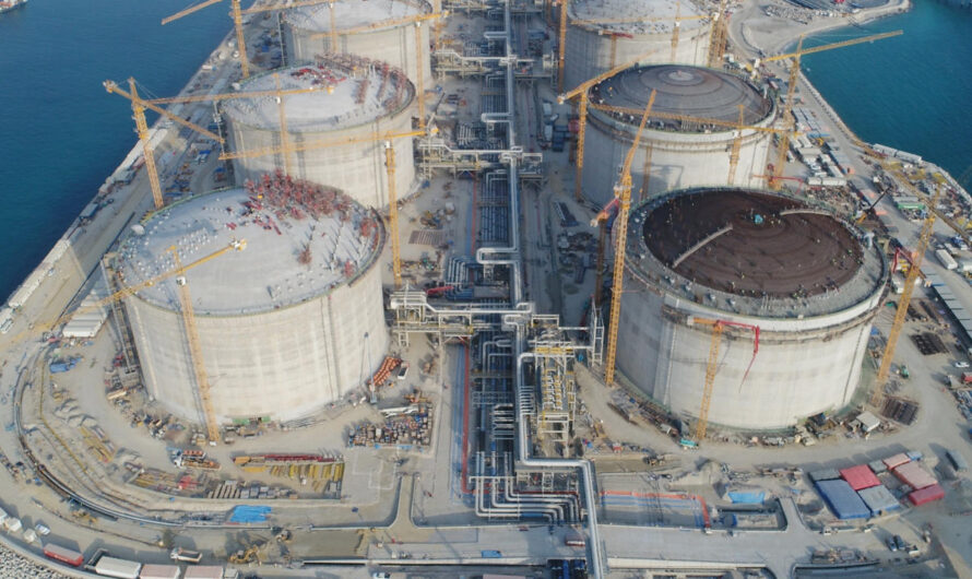 Запущен первый в Кувейте береговой терминал СПГ на 22 Мт/год Al Zour