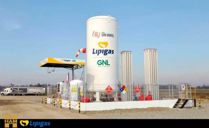 HAM и LIPIGAS построили первую СПГ-АЗС в Чили