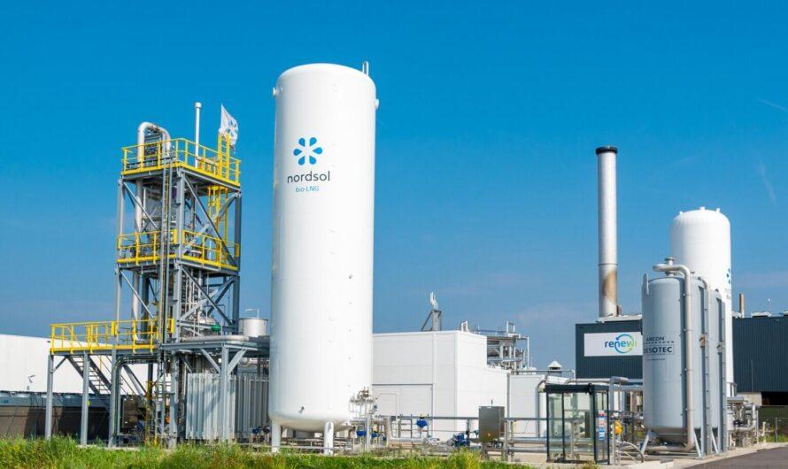 Nordsol, Shell и Renewi запускают первый в Голландии завод по производству био-СПГ